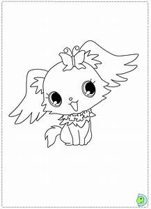 Jewelpet Coloring Page