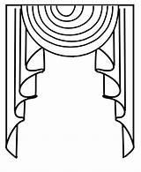 Drawing Custom Curtain Order Swag Valances Getdrawings Tita Orders Drapes sketch template
