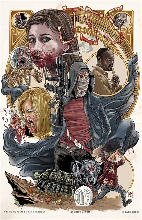 The Walking Dead Fan Artists Pay Tribute To Individual