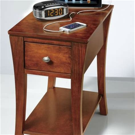 sofa table charging station charging station end table from ginny 39 s jw725970