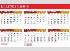 Download Gratis Template Kalender Hijriyah 2018 File CDR