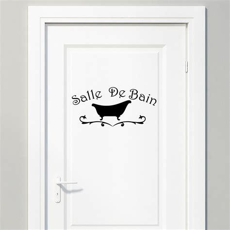 Sticker Douche Salle De Bain  Maison Design Bahbecom