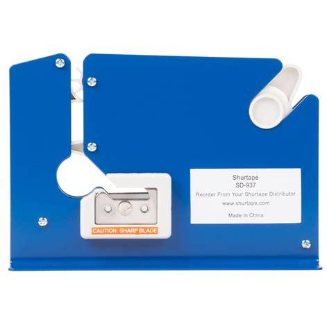 shurtape poly bag sealer tape dispenser