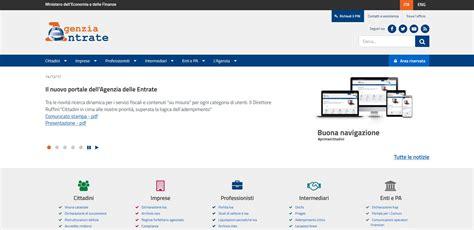 ufficio delle entrate pistoia il nuovo portale dell agenzia delle entrate
