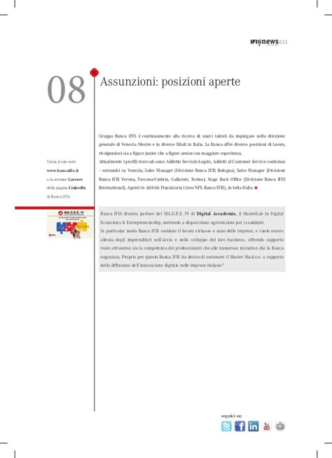 Ifis Filiali Newsletter Gruppo Ifis 7