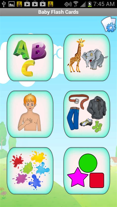 Amazoncom Baby Flash Cards  Learn Colors, Alphabet, Music, Numbers, Animals, Food & More With
