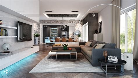 contemporary living rooms furniture fashion14 glamorous modern living room designs Classic
