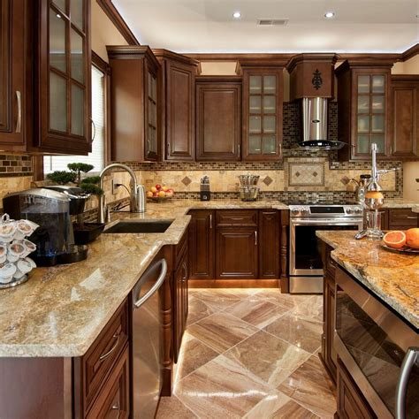 All Kitchen Cabinets by Geneva All Wood Kitchen Cabinets Chocolate Stained Maple