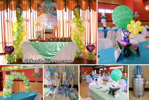 foto de Tinkerbell & Periwinkle Theme Birthday Decoration & Party