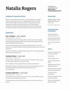 resume for nanny position how to write a nanny resume to wow any family with resume