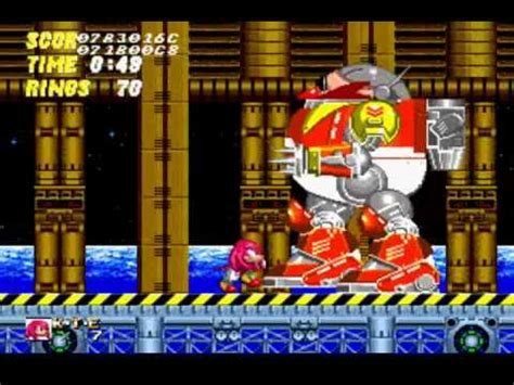 knuckles  sonic  super knuckles boss run youtube
