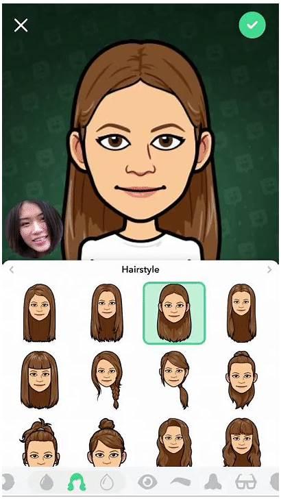 Bitmoji Hairstyles Snapchat Deluxe Popsugar Snap Filters