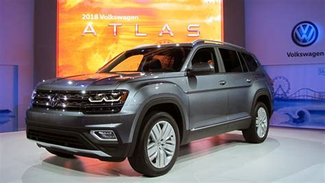 Volkswagen Atlas Suv 2018 Doesn't Shrug On Size
