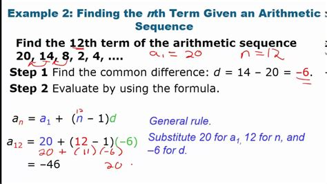 algebra 2 12 3 part 1 arithmetic sequences and series video youtube