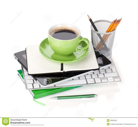 You have multiple options to select like stainless steel, jacobs kronung ground coffee, coffee beans, green coffee beans and arabica coffee beans. Coffee Cup And Office Supplies Stock Image - Image of device, computer: 29600523