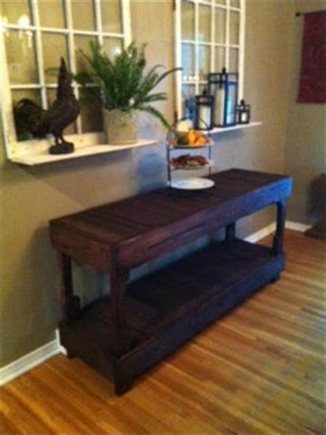 how to build a buffet table diy pallet buffet table 101 pallets