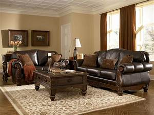 Ashley North Shore Sofa And Loveseat Living Room Sets