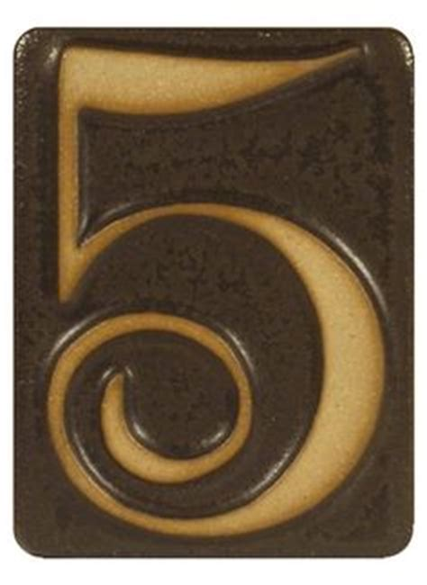 ceramic house numbers craftsman style houses craftsman