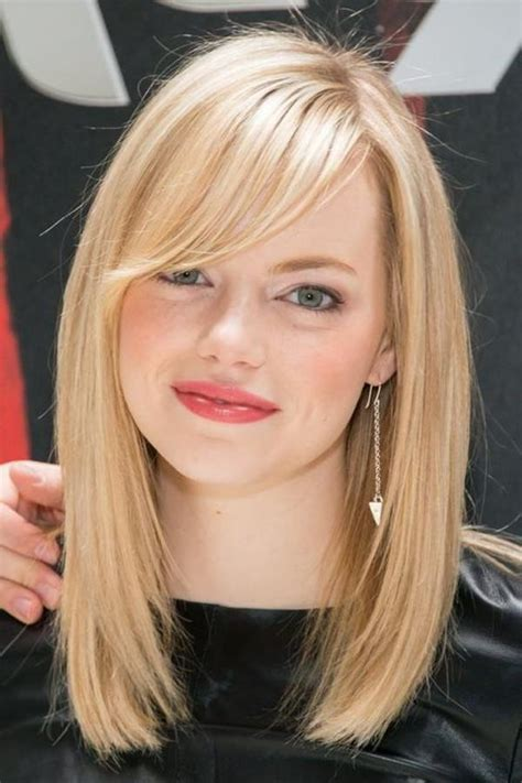 24 Glamorous Hairstyles with Swept Bangs Haircuts
