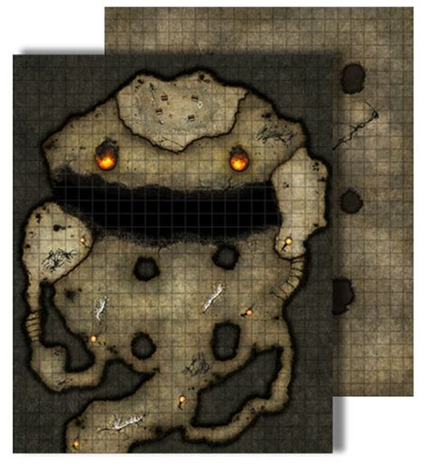 dnd ritual card template paizo gamemastery flip mat dragon s lair