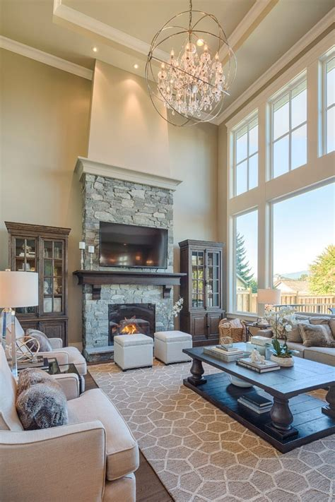magnificent rustic fireplaces pictures   story great room tv  fireplace