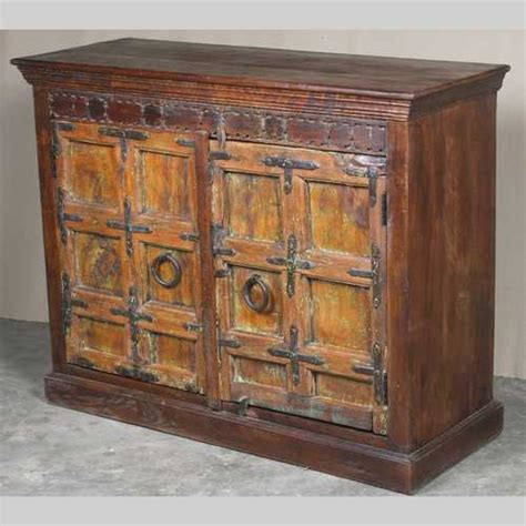 Indian Sideboard Furniture by Chunky Door Sideboard Jugs Indian Furniture Gifts