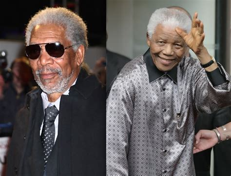Morgan Freeman And Nelson Mandela Watched 'invictus
