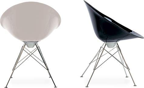 philippe starck chaise ero s fixed base chair hivemodern com
