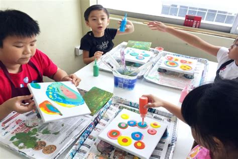 art classes  kids  singapore  unleash