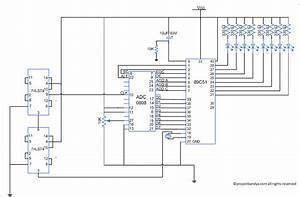 Interface Adc0808 With 8051 Microcontroller Using Clock