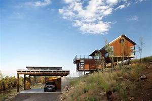 Rustic, Meets, Contemporary, Hillside, Home, In, The, Rocky, Mountains