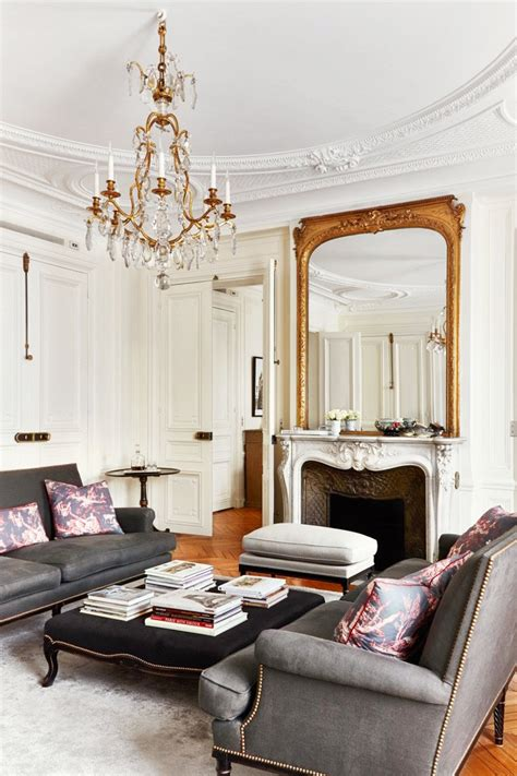 Black Parisian Interior Design Home Office by 5 Steps To The Parisian Home The Chriselle Factor