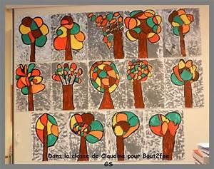 Bricolage Automne Primaire : arbre peinture et fond gris art enfants pinterest automne gris et maternelle ~ Dode.kayakingforconservation.com Idées de Décoration