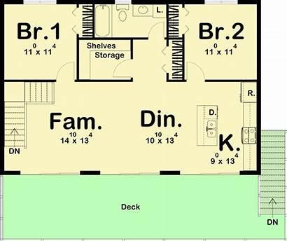 Cabin Plan Getaway Architecturaldesigns Plans Architectural Level