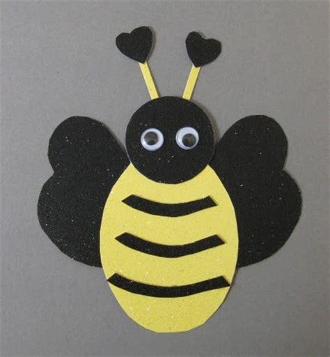 preschool crafts  kids valentines day bee craft