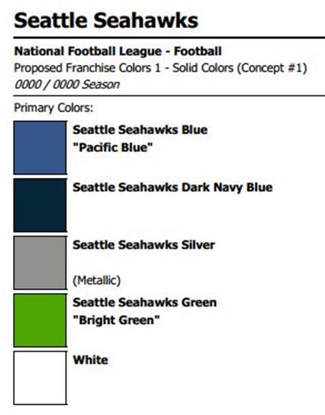 seattle seahawks colors gohawks paint