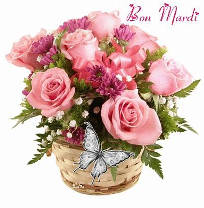 Mardi Bon Centerblog Bonne Gifs Fleurs Matin