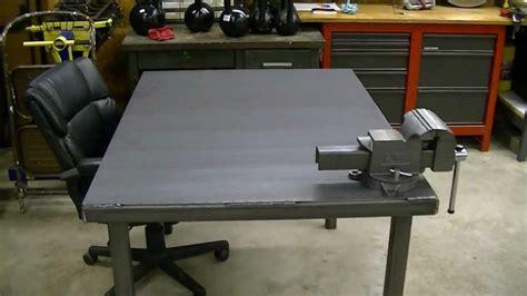 metal work bench free metal work bench plans furnitureplans