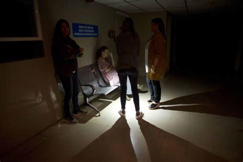 living   humanitarian crisis power outage