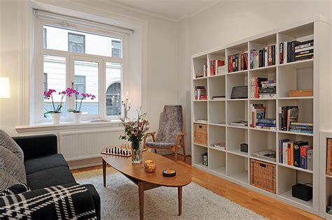 scandinavian chic works magic  small spaces