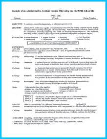 Administrative Assistant Resume Exle by 25 Best Ideas About Administrative Assistant Resume On