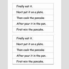 Pancake Writing Sequence By Amiecr88  Teaching Resources