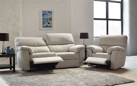 Ashwood Hamilton 3 Seater Double Power Reclining Sofa