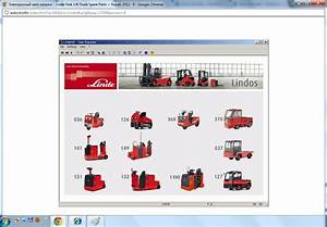 Linde Forklift Truck Spare Parts Repair 2012