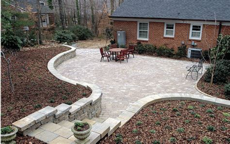 Paver Patio Images by A Concrete Paver Patio From The Bottom Up Homebuilding