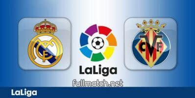 Real Madrid vs Villarreal Full Match 2019-20 ...