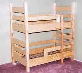 toddler size bunk bed plans woodideas