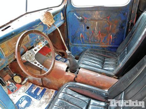 ford pickuptrat rod interior hot rods cool trucks