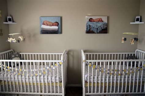 Toddler Boy And Baby Girl Shared Room.