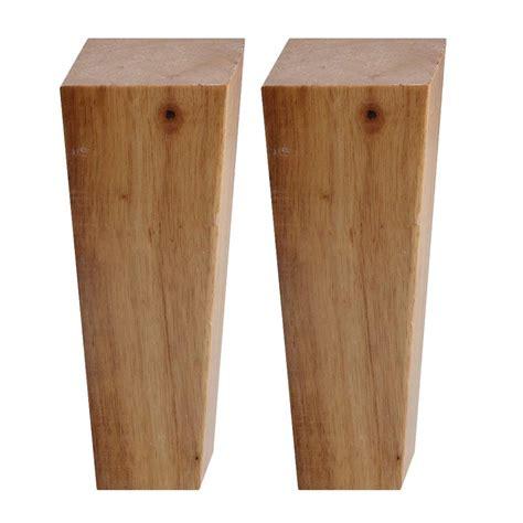 pcs wooden furniture legs oak wood angle cabinet